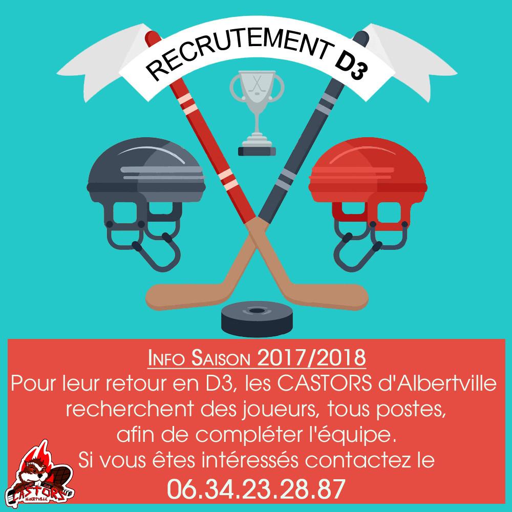 recrutement D3