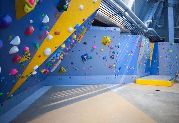 mur escalade halle olympique