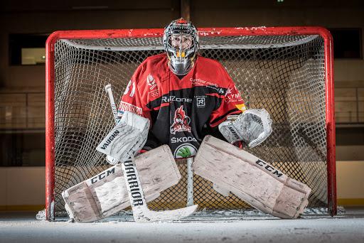 gardien hockey mael