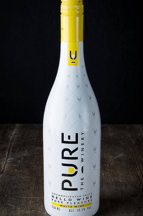 Vino blanco Pure bajo en calorías sin azúcar