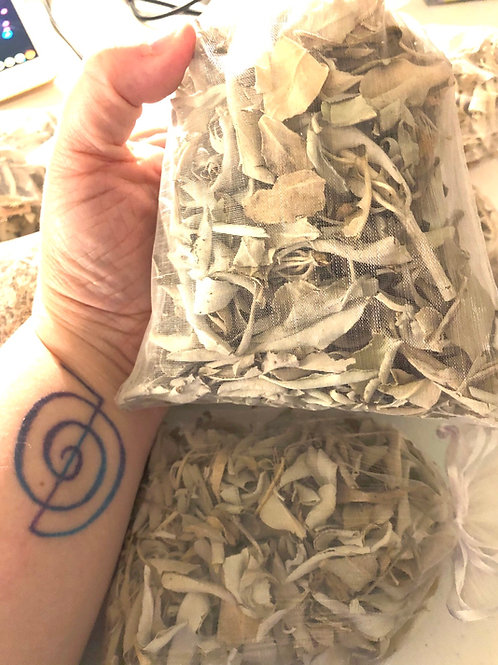 California White Sage infused with Reiki