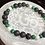 Thumbnail: Malachite, Howlite and Lava Stone Bracelet