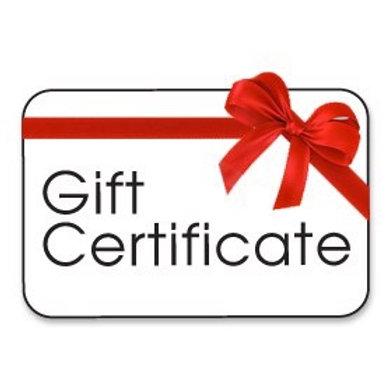 Gift Certificate for 60 min Reiki Healing or Tarot Reading session