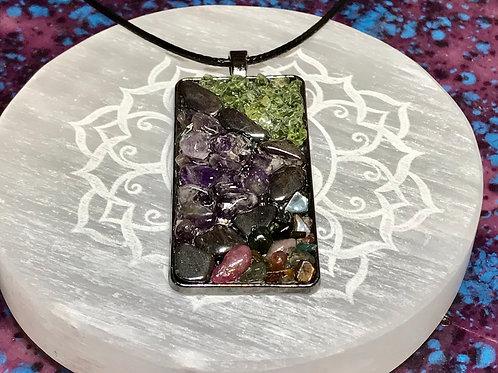 Crystal Gemstone Necklace