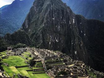 Machu Picchu, from 'machu pickchu' in Quechua: 'old peak'