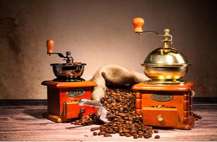 Kaffee-Mahlen - die Grundlage für den späteren Gehalt des Kaffees