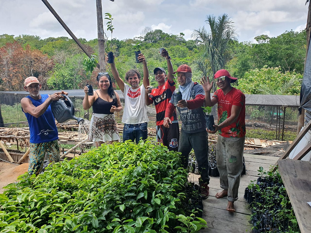 Staff on our plantation in Brazil - its.my.money