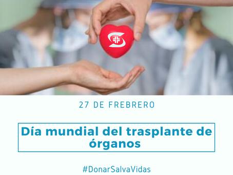 Día Mundial del Trasplante de Órganos