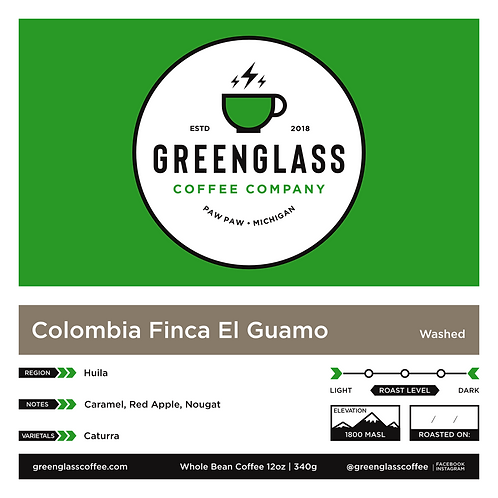 Colombia - Finca El Guamo, Huila