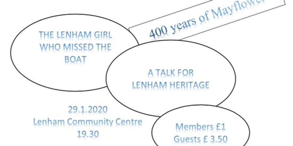 The Lenham Girl who missed the Boat