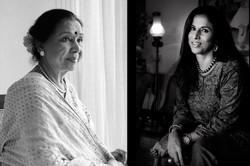 Aasha Bhosle & Shobhaa De