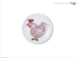 vegetarian society [ Cock ]