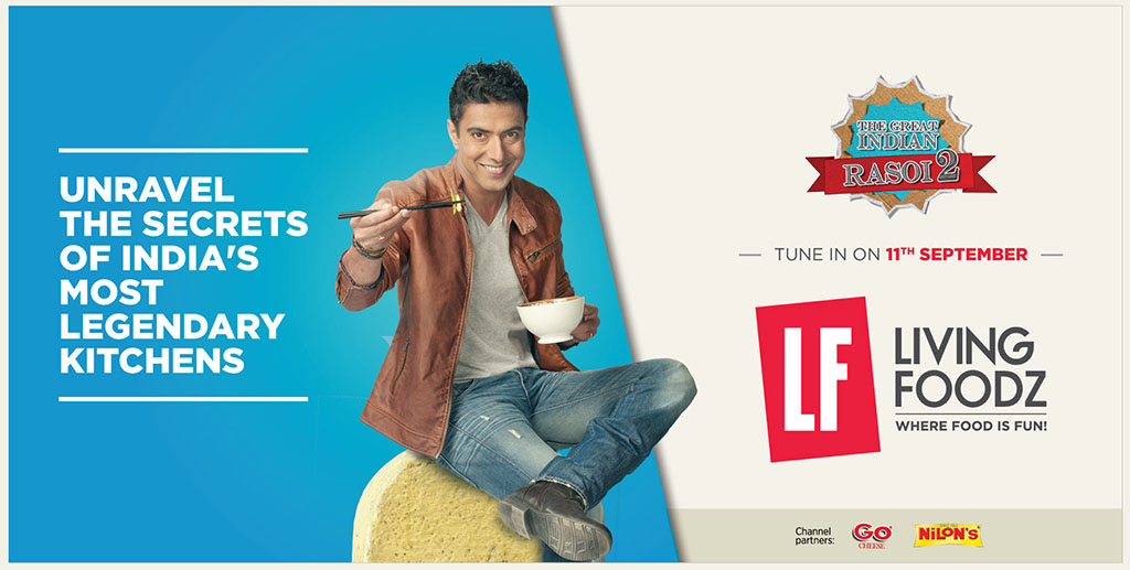 Ranveer Brar  [Living Food Channel ]