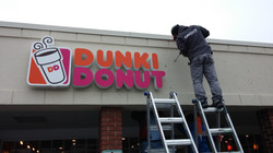 Dunkin Donut - Channel Letters