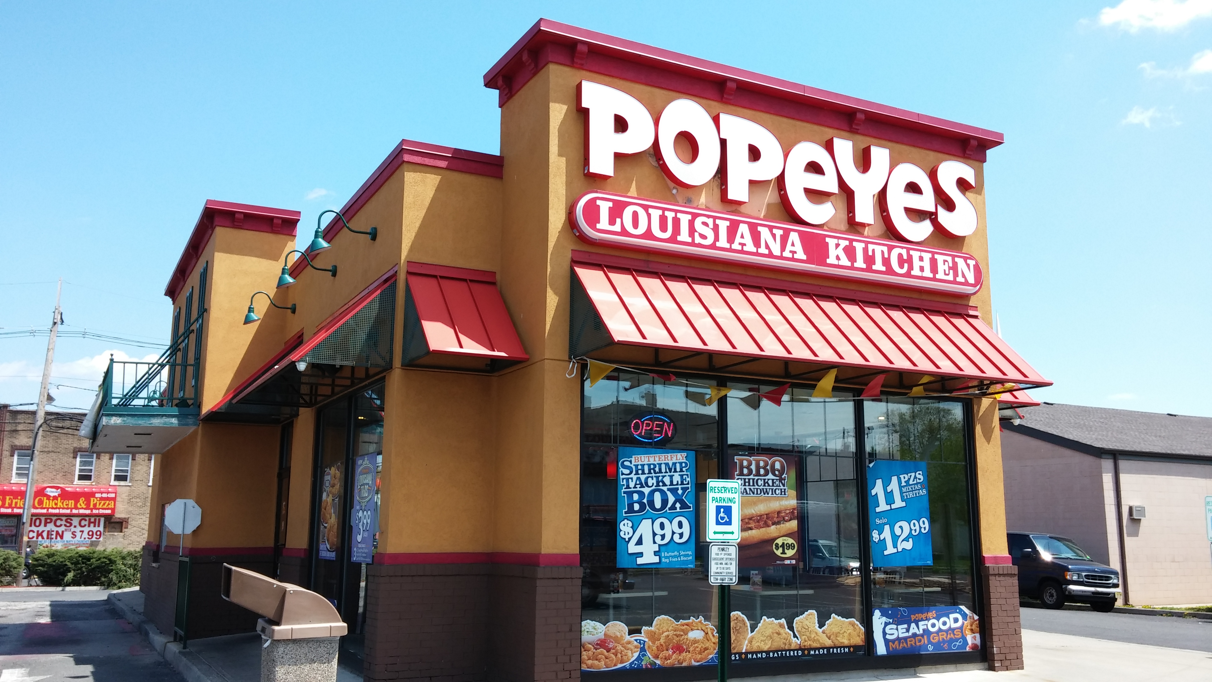 Popeyes - Channel Letters