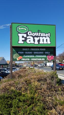 Ramsey Gourmet Farm - LED Lightbox