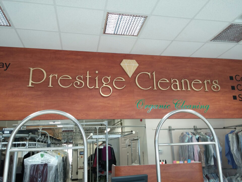 Prestige Cleaners - Cutting Letters