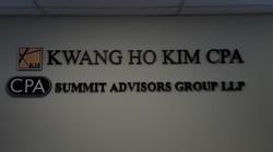 Kwang Ho Kim CPA Cutting Letter