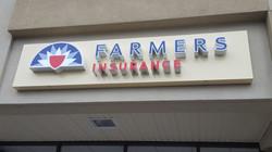 Farmers Insurance - Channel Letters