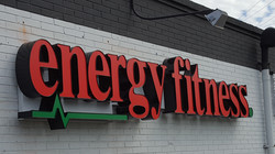 Energy Fitness - Channel Letters