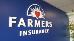 Farmers Insurance - Cutting letters