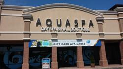 Aqua Spa - Backlit Channel Letters
