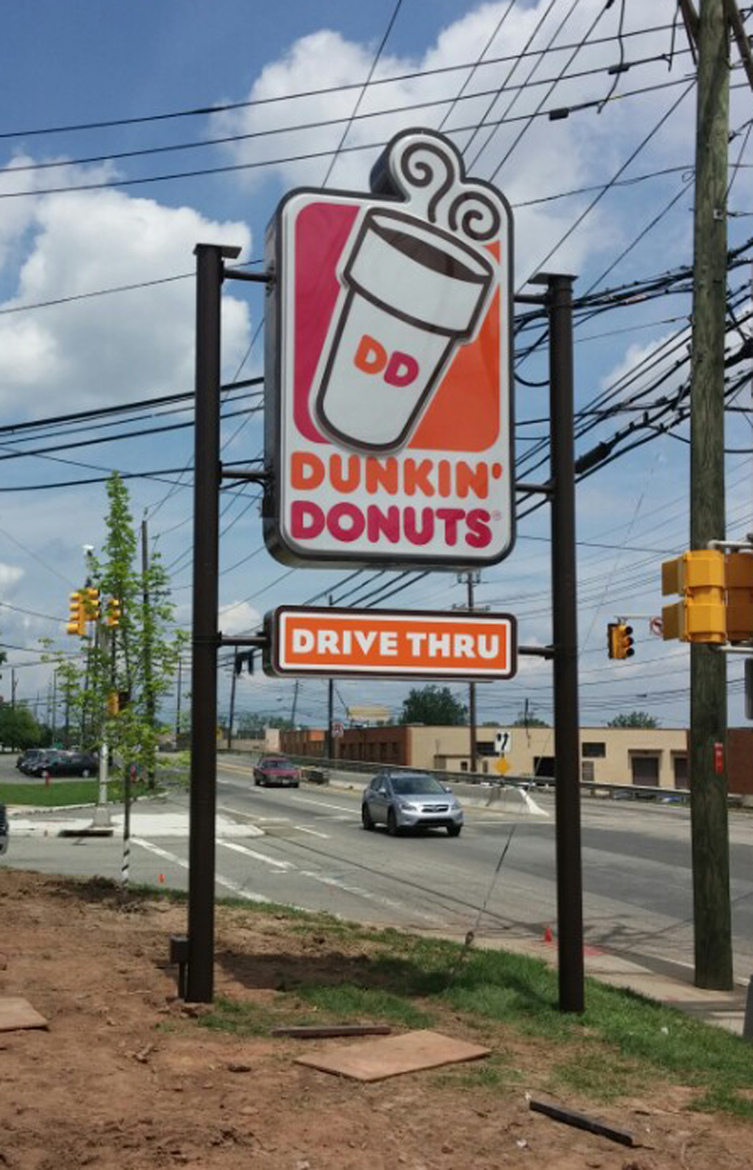 Dunkin Donut - LED Lightbox