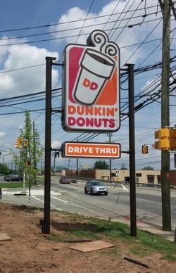 Dunkin Donut - LED Lightbox