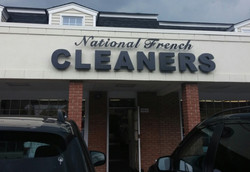 Cleaners - Backlit Channel Letters