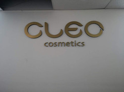 Cleo - Cutting Letters
