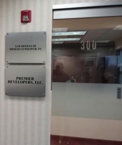 CHT Group - Door Sign