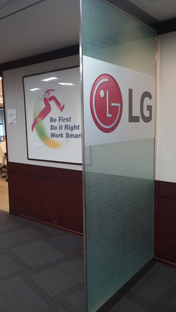 LG - Window Sticker