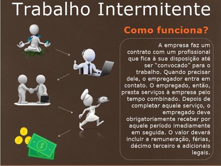 Reforma trabalhista: Como funciona o trabalho intermitente.