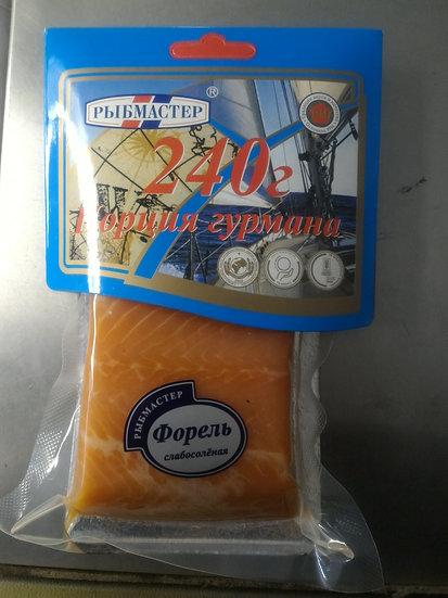 Форель сл./с ф/кусок в/у 240 гр.