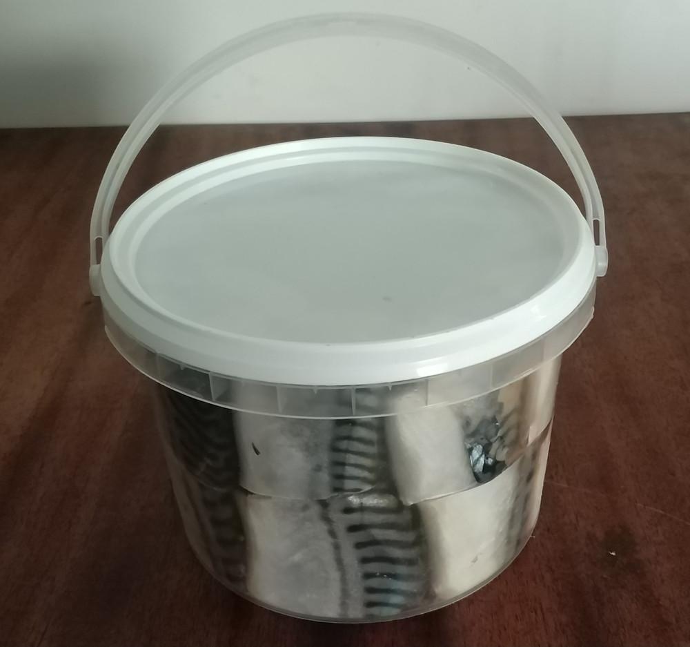 Скумбрия в маринадной заливке кусок 2,5 кг.