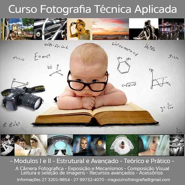 curso de fotografia, edição de imagem, pratico, teorico, técnico, ragozzino, vitoria, espirito santo,