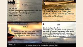 A Divine Guru represents the UnManifest Form of God
