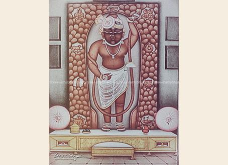 Peethikaji of ShreeNathji at Nathdwara