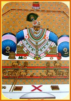 Shree Navneet Priyaji at Nathdwara