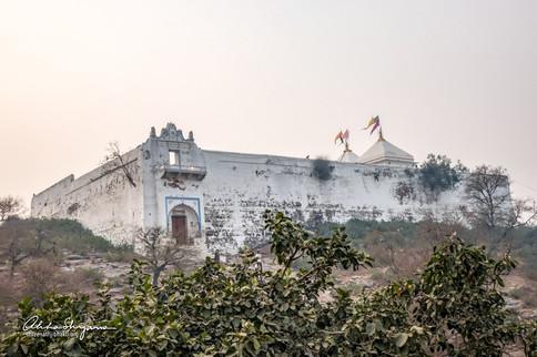 ShreeNathji mandir on Girirajji