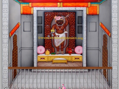Eight Jhankis (Darshans)at ShreeNathji Nathdwara Haveli: