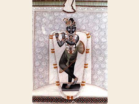 Shree Gokul Chandrama Ji, at KaamVan, Vraj