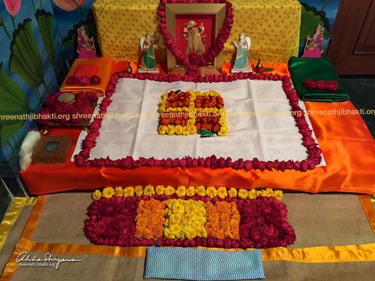 ShreeNathji Paat utsav