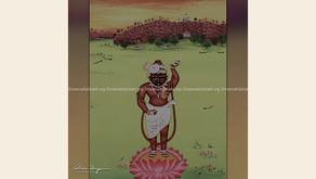 श्रीनाथजी - आँखों में अश्रु हैं..मन में आज प्रातःकाल से कुछ खलबली है - एक काव्य
