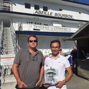 """""""La Mer & ses Hommes"""" mis en avant aux portes ouvertes de l'Abeille Bourbon"""