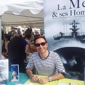 """La Mer & ses Hommes au salon du livre """"Mots & Marées"""""""
