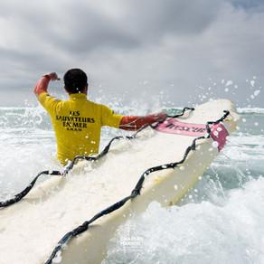 A l'eau avec les nageurs-sauveteurs de la SNSM