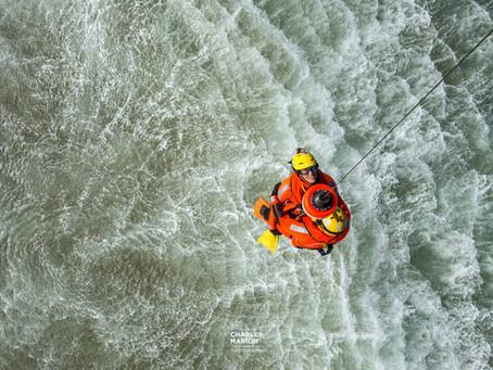 Projet sauvetage en mer : une journée dans la peau d'un photographe