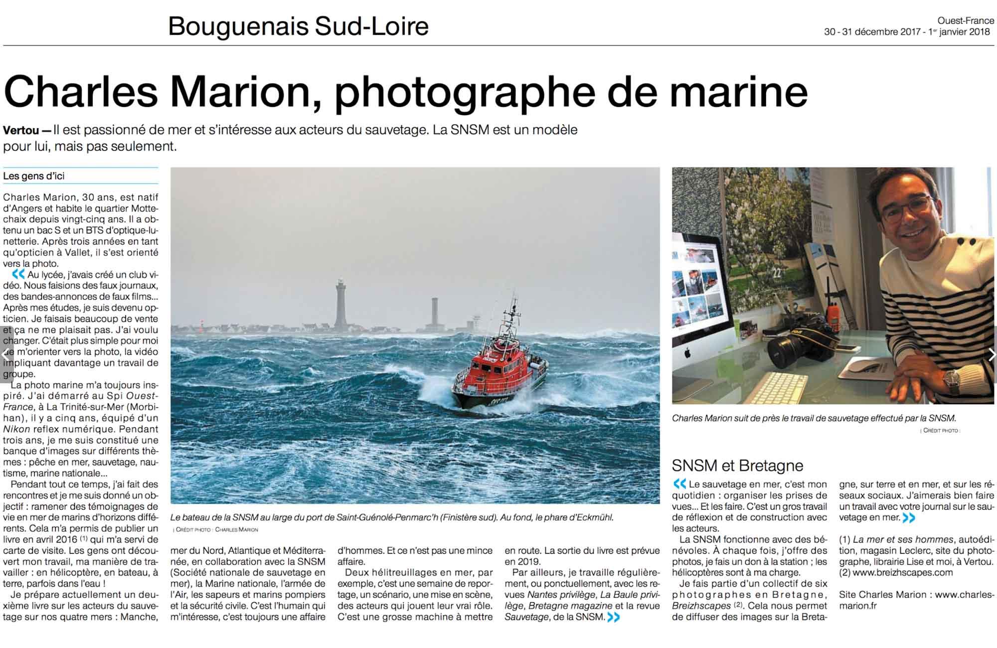 Ouest France Nantes - 30/31 Décembre
