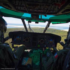 """Exercice """"SAMAR"""" avec l'Escadron d'hélicoptères (EH) 01.067 « Pyrénées »"""